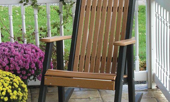 مبلمان چوبی باغ ساخته شده از مواد منحصر به فرد ترمووود