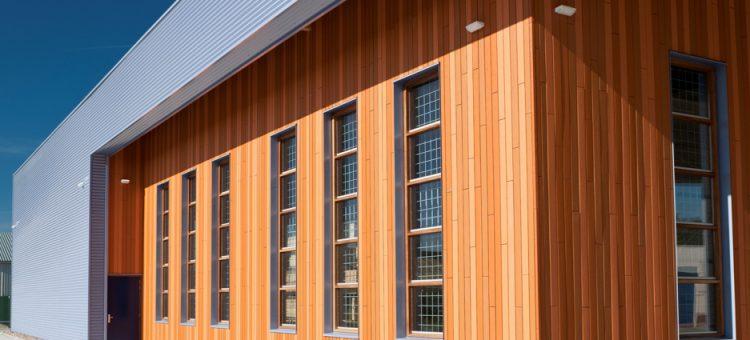 استفاده از چوب ترمو به عنوان نمای ساختمان