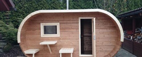 ساخت کلبه با چوب ترمو