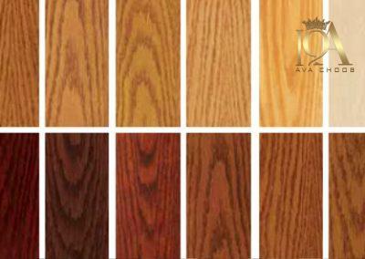 رنگ مناسب برای چوب